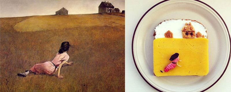 13 food art ida frosk Andrew Wyeth  Le Monde de Christina