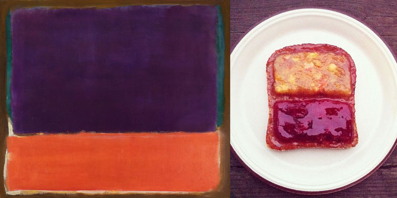 4food art Mark Rothko n14 ida frosk