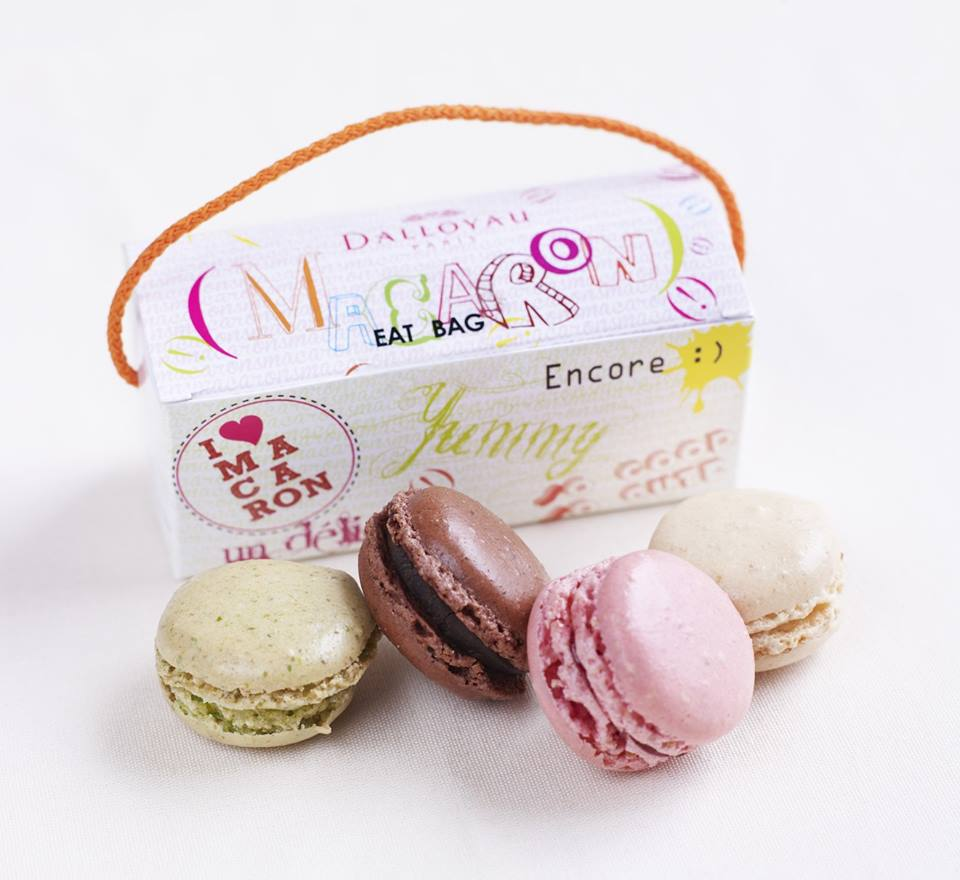 dalloyau macarons fashion week
