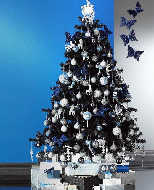 black-christmas-tree-ideas