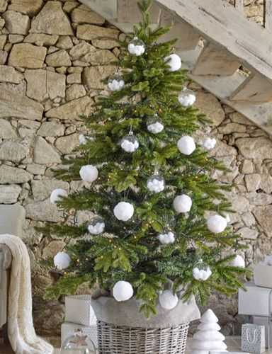60 idees sapin de noel tendance d coration sapin de noel for Decoration sapin de noel americain
