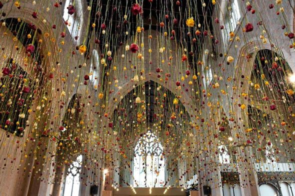Rebecca Louise Law suspension flowers