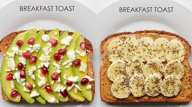 Breakfast toast