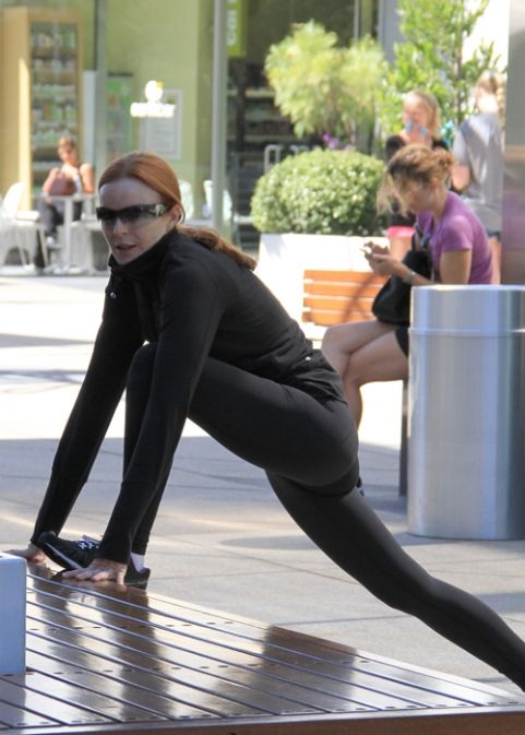 marcia cross running