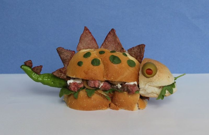 Sandwich Monsters food art
