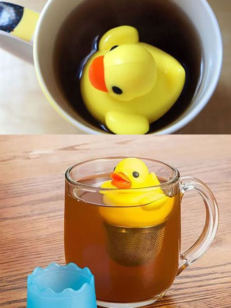 Infuseur a the Canard