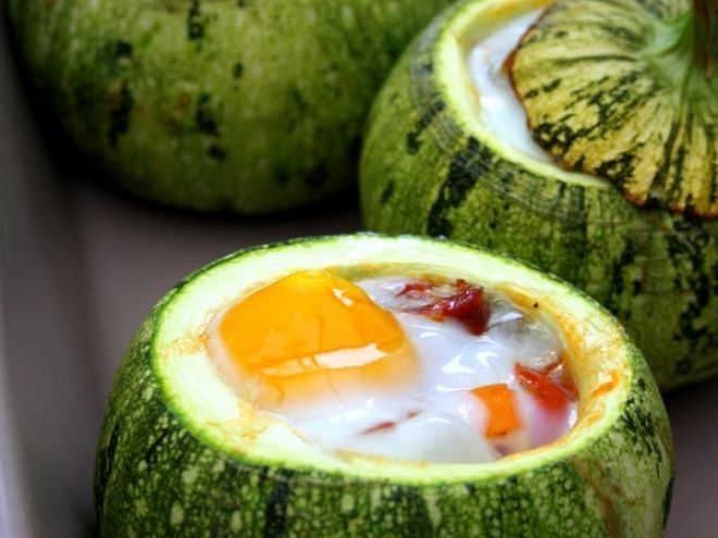 oeuf cocotte courgette