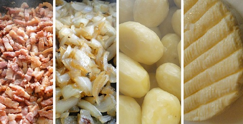 ingredients-tartiflette-savoyarde facile