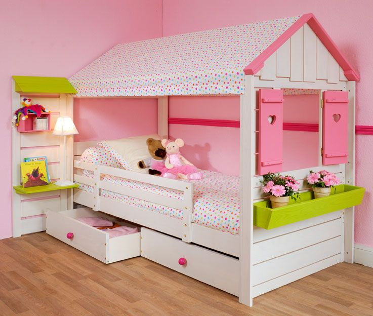 lit enfant fille original. Black Bedroom Furniture Sets. Home Design Ideas