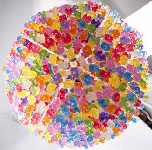 Gummy Bears Chandelier1