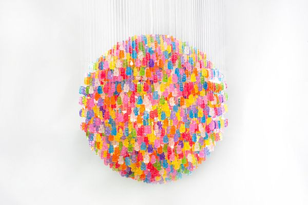 Gummy Bears Chandelier3