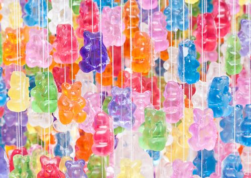 Gummy Bears Chandelier6