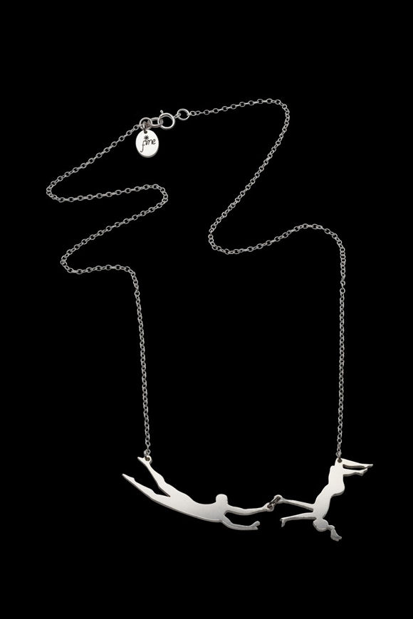 Trapeze-necklace