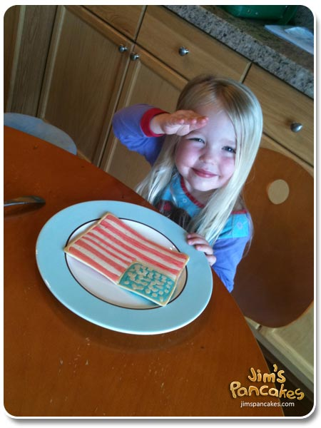 allie-american-flag-pancake