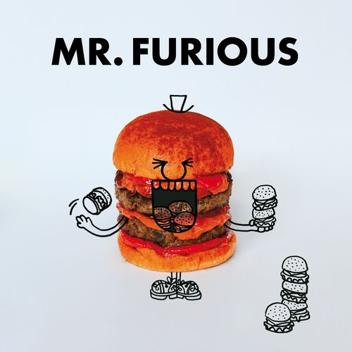 Mr furious burger @Fat and Furious Burger