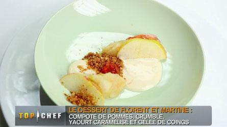 pomme yaourt
