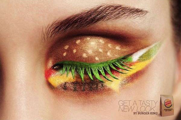 maquillage burger king