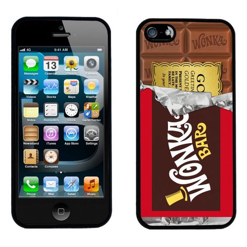 "Coque Iphone Willy Wonka du film ""Charlie et la chocolaterie"" - environ 12 euros chez Knowgifts.com"