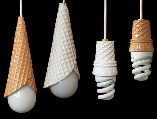 Ice Cream Light Bulbs