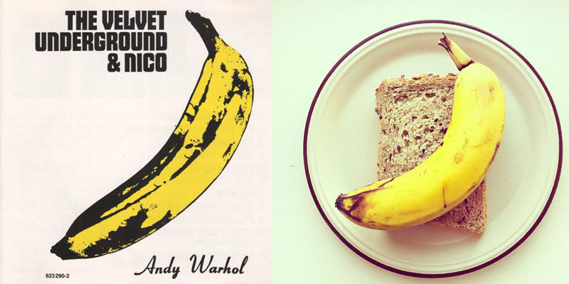 5food art ida frosk Andy Warhol  The Velvet Underground & Nico