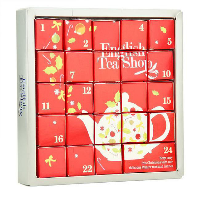 Calendrier de l'Avent de English Tea Shop 2015