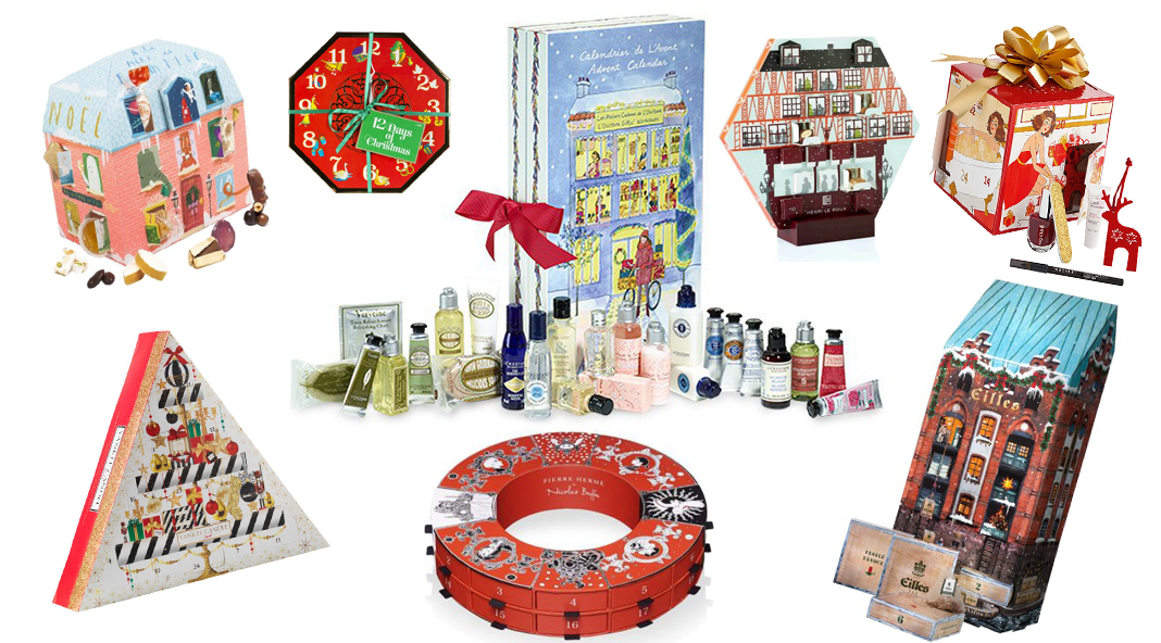 calendrier avent the body shop
