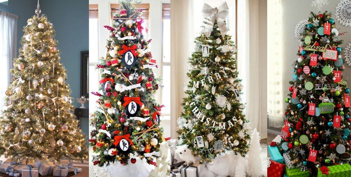 60 idees sapin de noel tendance d coration sapin de noel for Les plus beaux sapins de noel decores