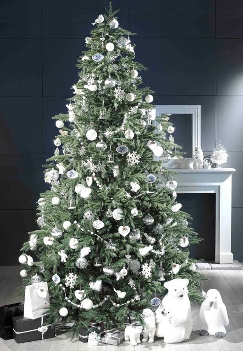 60 idees sapin de noel tendance d coration sapin de noel for Decoration de sapin de noel