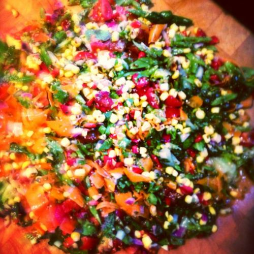 Friday Night Chopped Salad