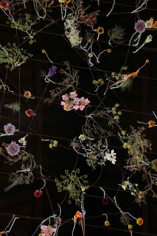 Rebecca Louise Law flowers fashion