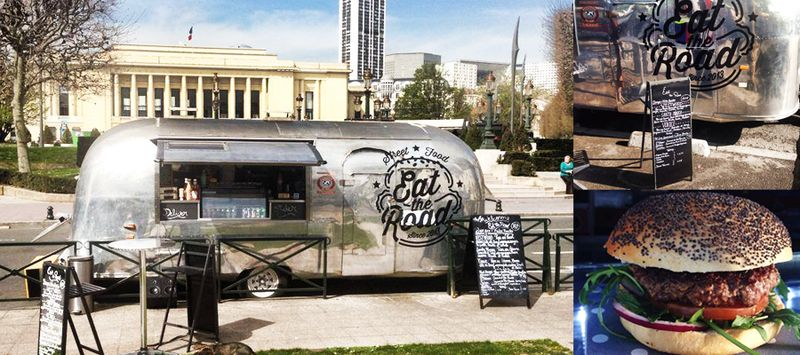food truck eat the road