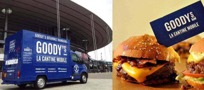 food truck goodys cantine mobile