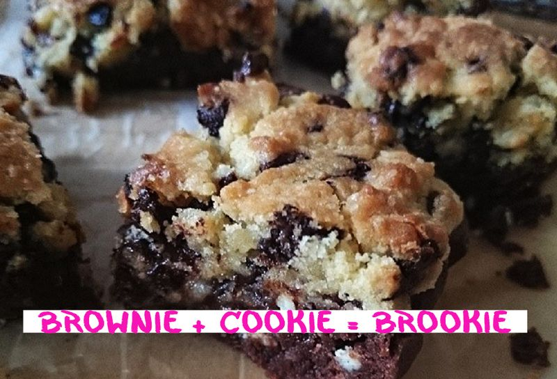 Brownie + Cookie = Brookie