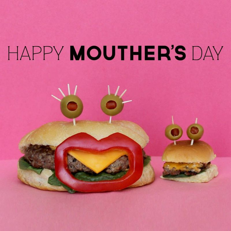 Sandwich Monsters mother day