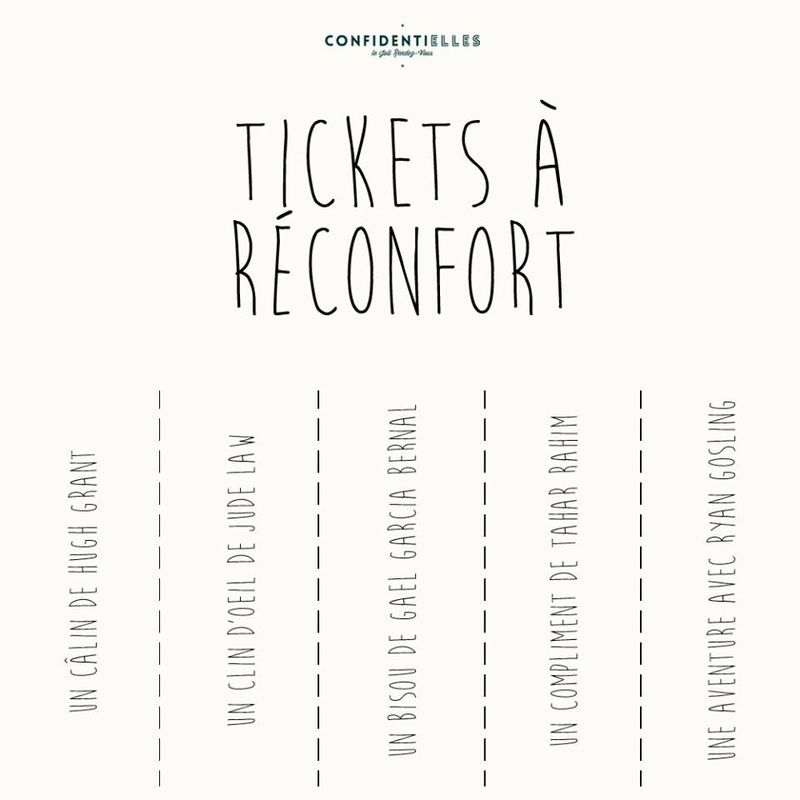 tickets a reconfort femme
