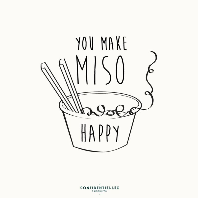 you make miso happy humour
