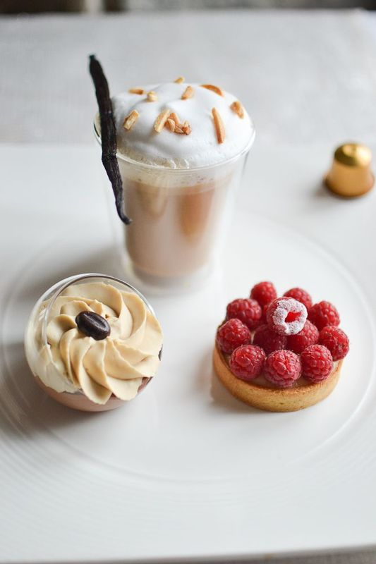 café latte gourmand