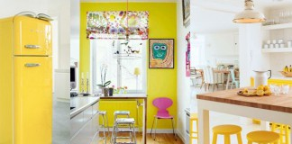 idees decoration cuisine jaune