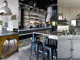 idees decoration cuisine industrielle