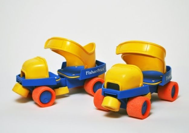patin a roulettes fisher price