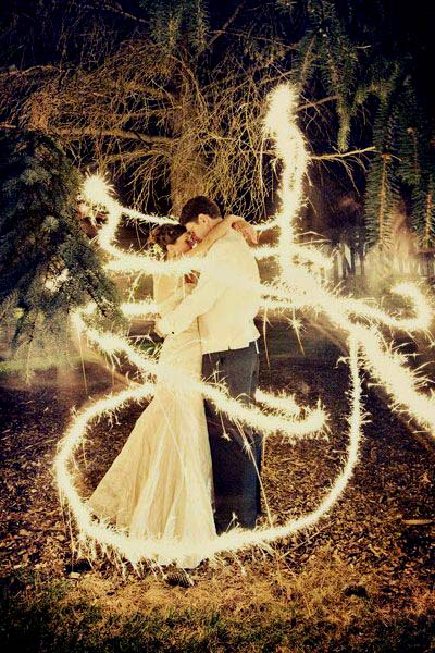 photo lumiere mariage