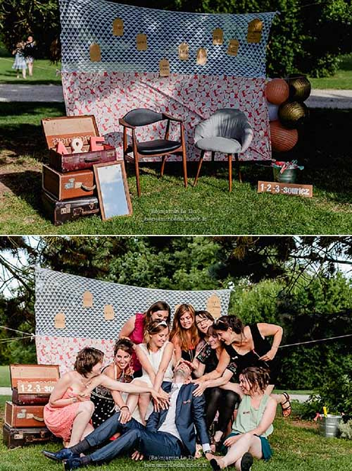 photobooth mariage decor champetre