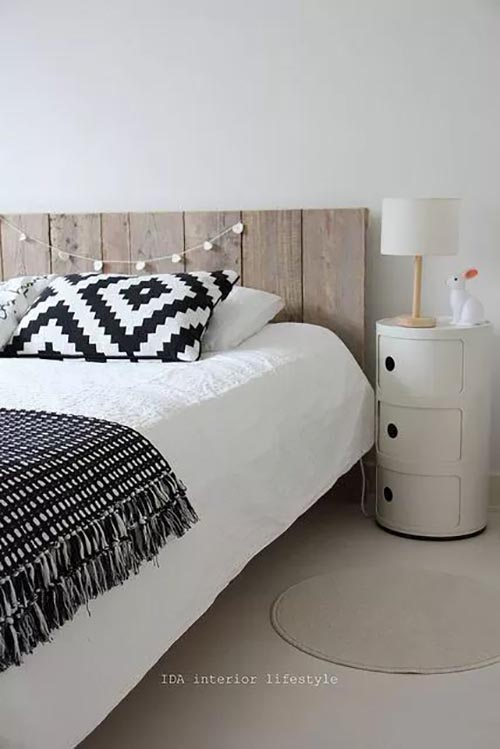 25 id es pour une t te de lit originale for Pinterest decoration chambre